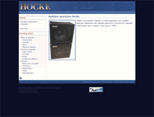 Tablet Preview of hocke.eu